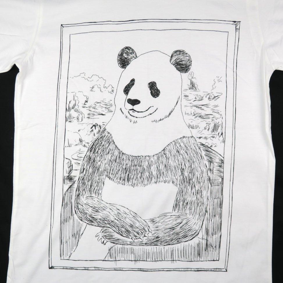「パナ・リザ」Tシャツ イラスト部分