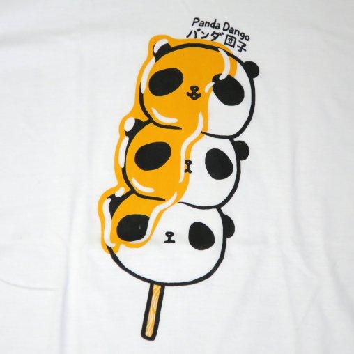「パンダ団子」Tシャツ イラスト部分