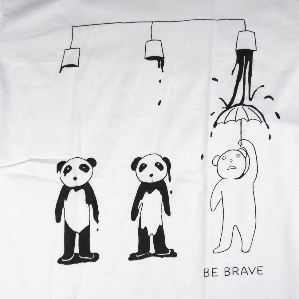 「パンダカラー」Tシャツ イラスト部分