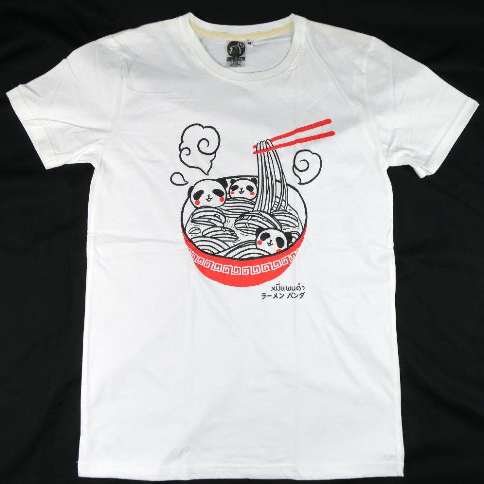「ラーメンパンダ」Tシャツ