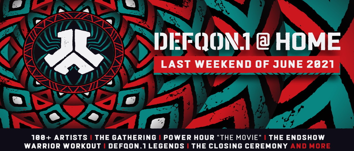 Defqon1 at home 2021, hardstyle, qdance, event, party