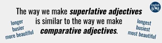 Learn English superlatives