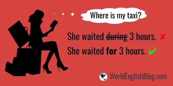 She waited for 3 hours.