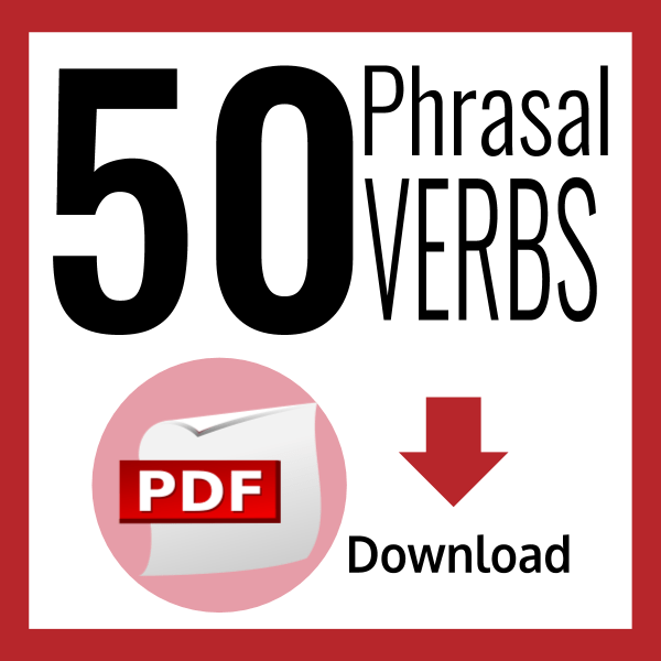 50 English phrasal verbs