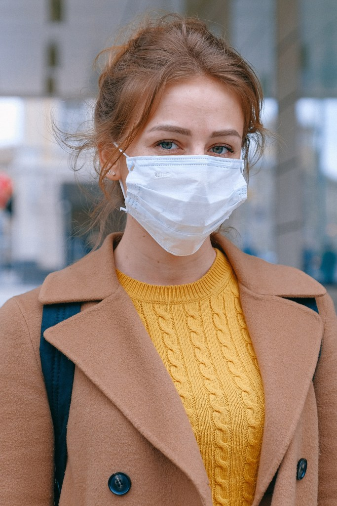 Wear mask to prevent common cold