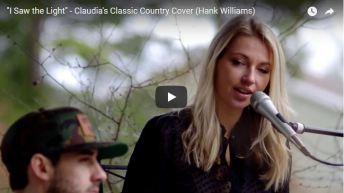 """""""I Saw the Light"""" – Claudia's Classic Country Cover (Hank Williams)"""