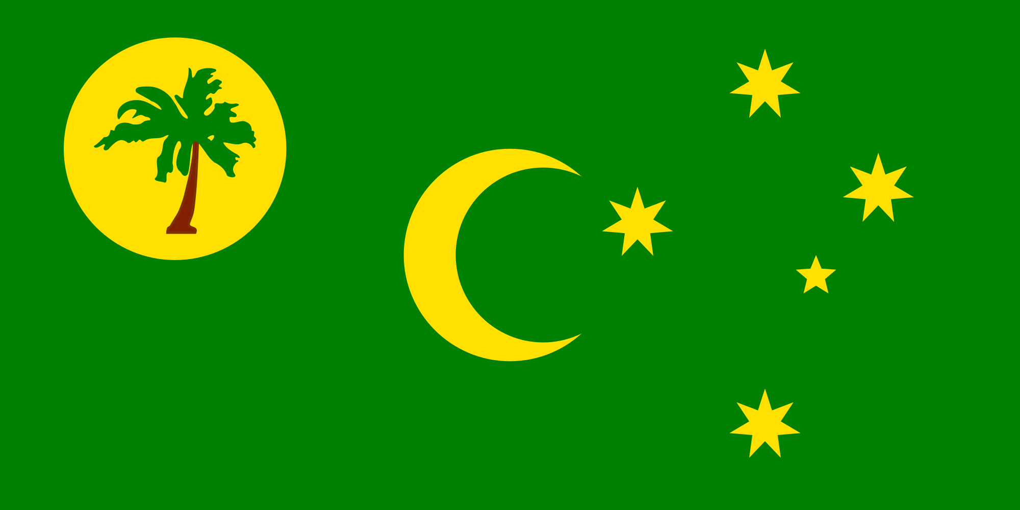 Flag of the Cocos (Keeling) Islands