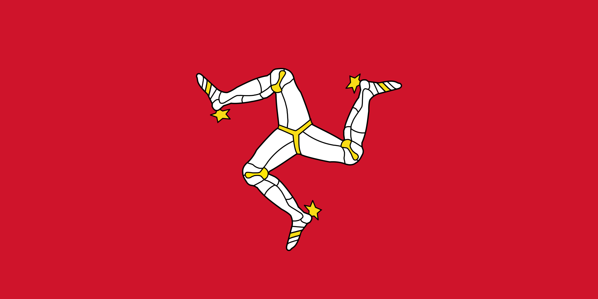 Flag of the Isle of Mann