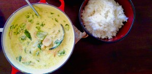 Thai curry base with variations