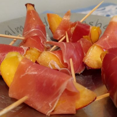 Ham And Peach Nibbles