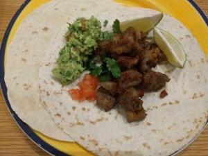 Carnitas Tacos with Guacamole