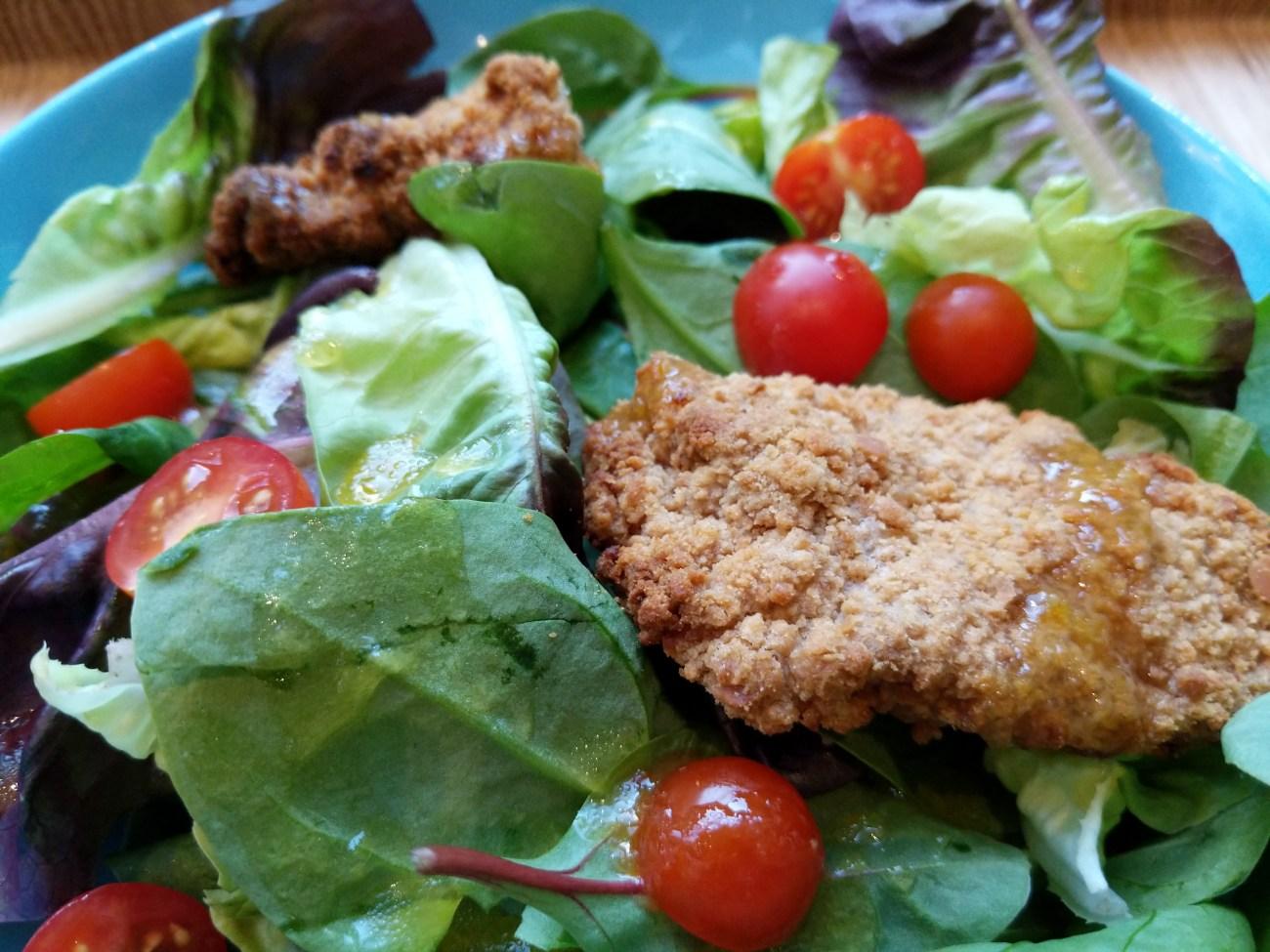 Styrian Breaded Chicken Salad