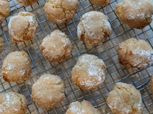 Chewy Amaretti Biscuits