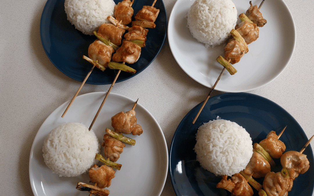 Chicken and Spring Onion Yakitori