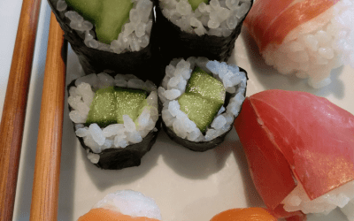 Temari-Zushi and Hoso Maki