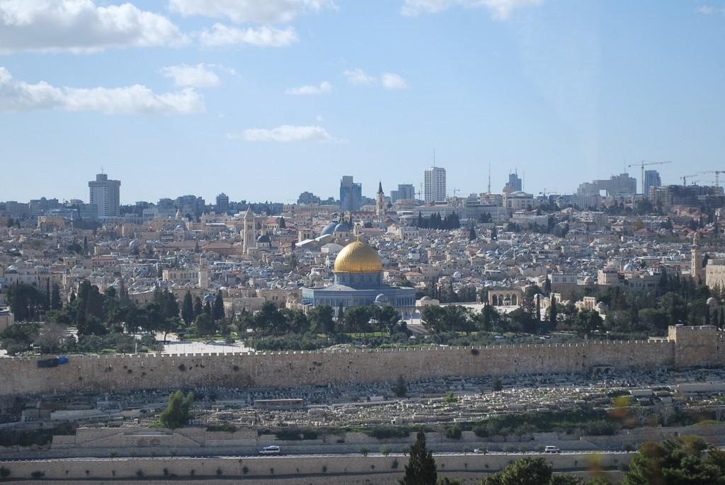 Mount Scopus in Jerusalem, Israel.  Photo:  Tonya Fitzpatrick