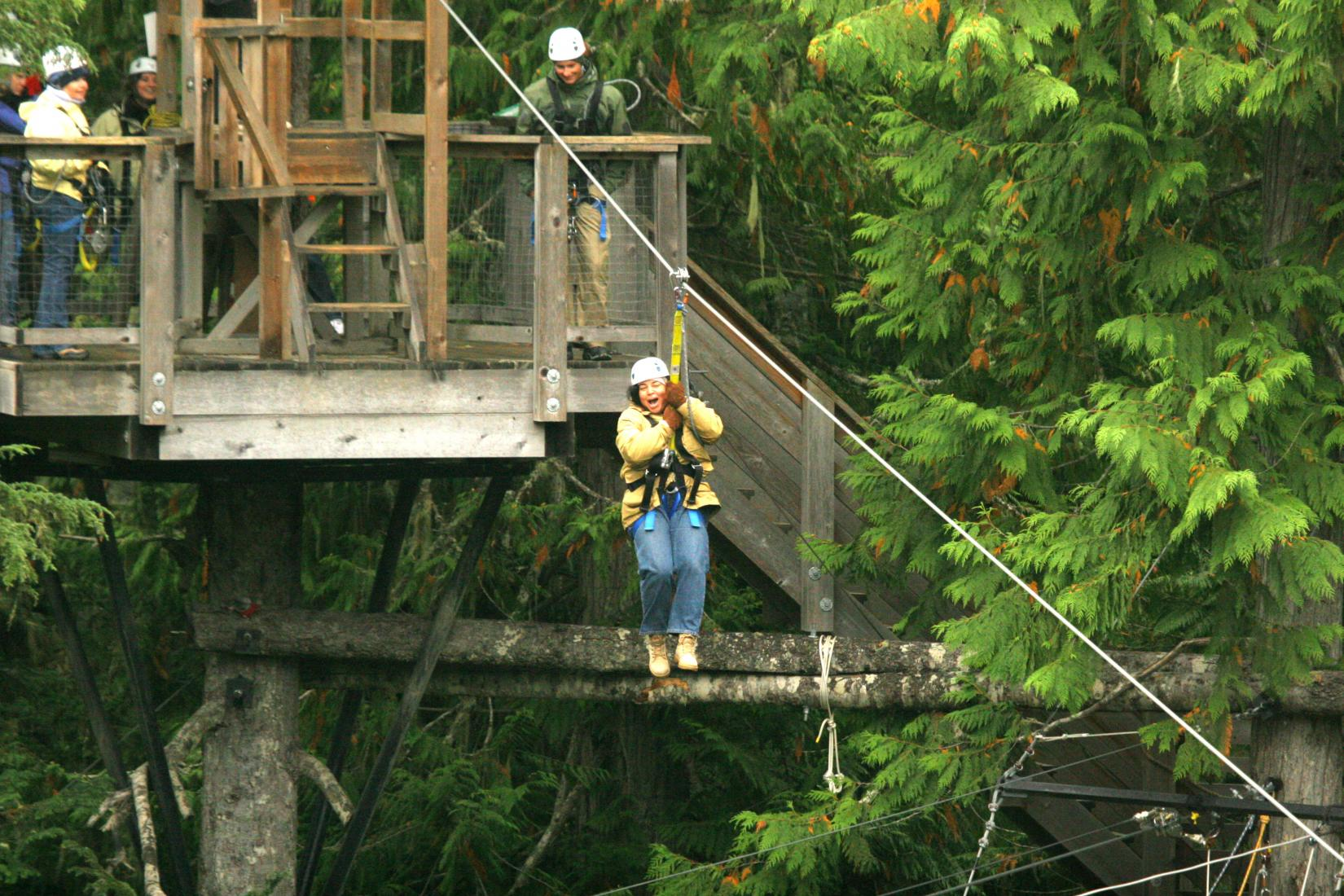 Adventure travel showing Tonya ziplining.jpg