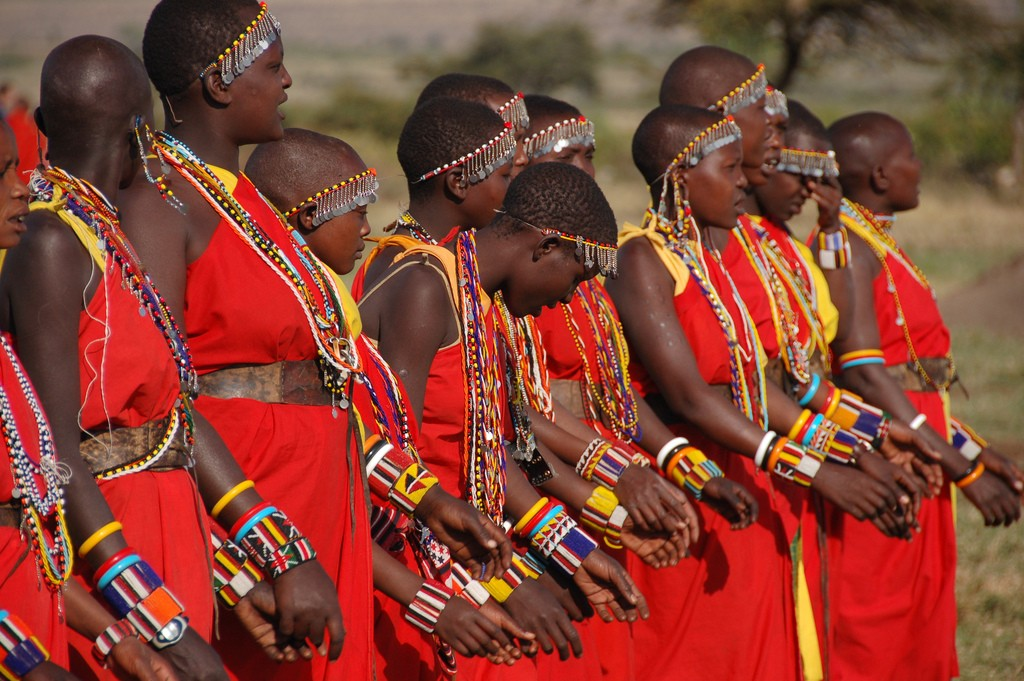 Masai Mara women.