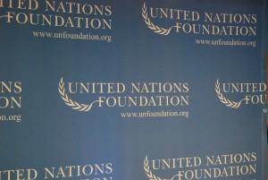 UN Foundation banner