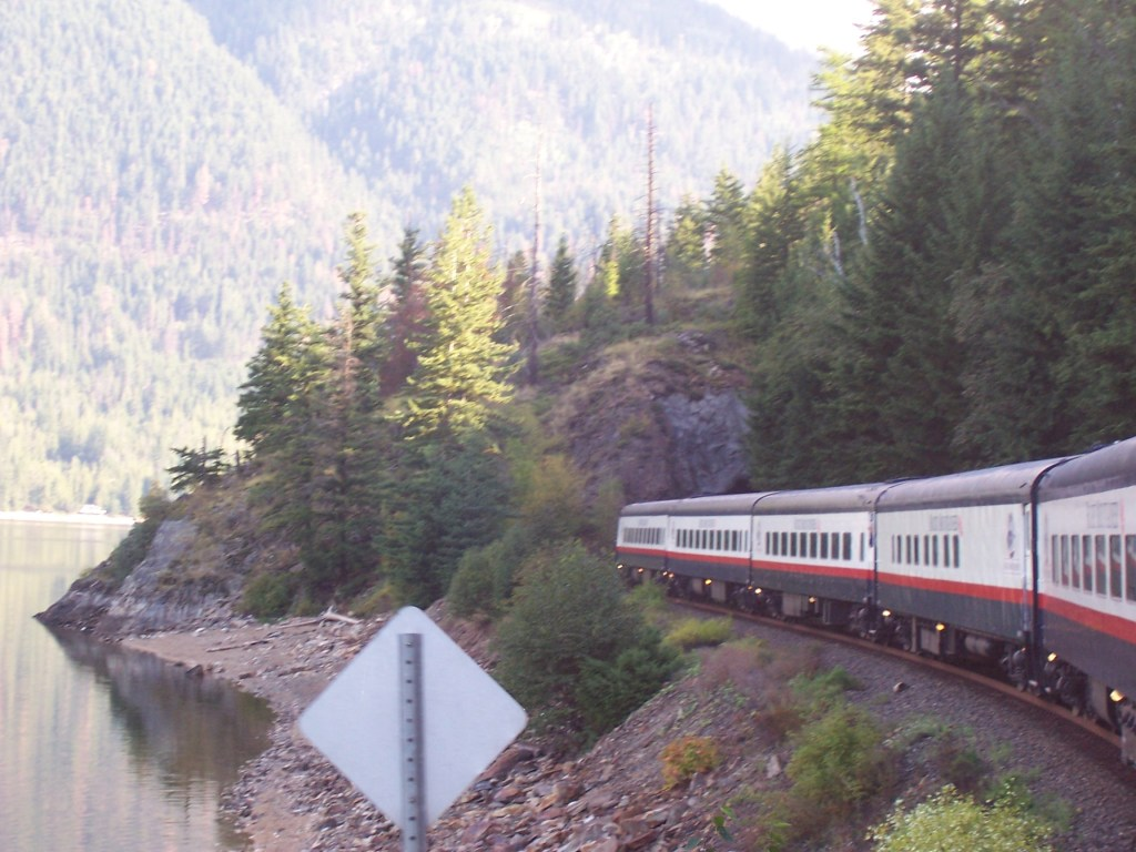 Aboard the Rocky Mountaineer through the Candian Rockies.  Photo:  Tonya Fitzpatrick