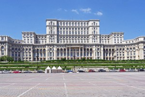 Parliament Palace in Bucharest, Romania