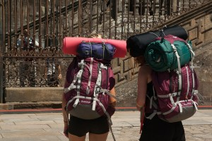 Backpack travelers