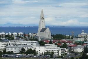Reykjavik panorama