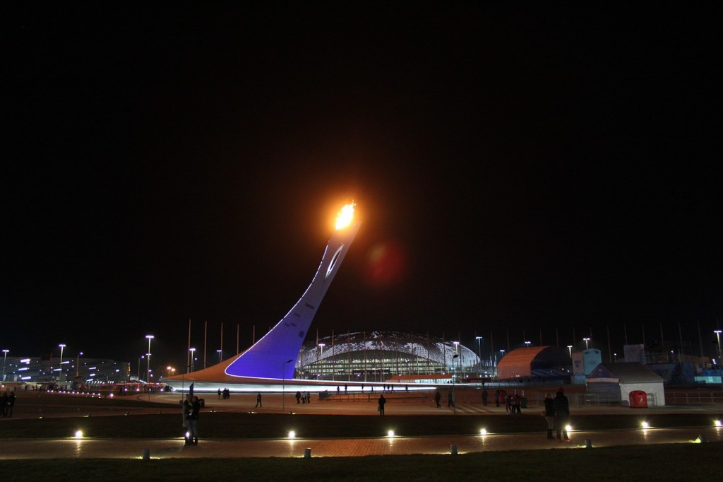 Sochi Olympic flame
