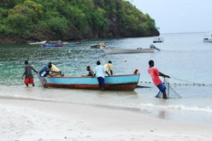 Fishermen on St. Vincent