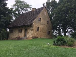 Exterior of Hans Herr House
