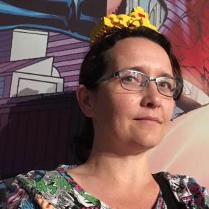 Writer Ann-Marie Cahill