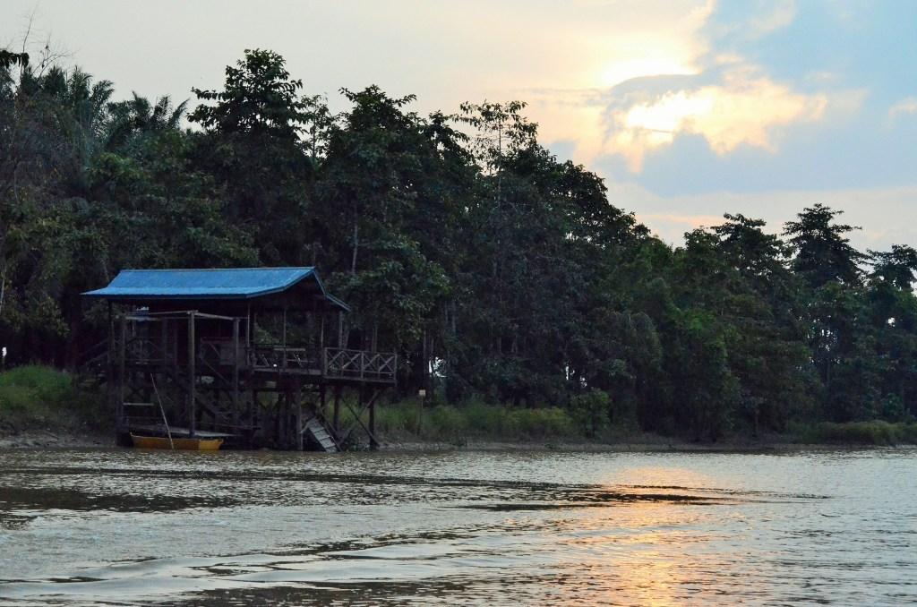Photo of safari camp taken by Ann-Marie Cahill.