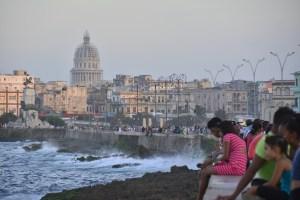 Havana, Cuba's famous Malecon.