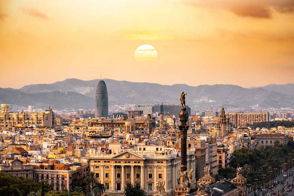 Barcelona is famous for its stunning architecture
