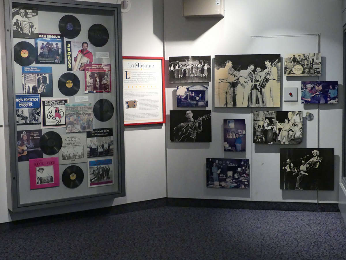 A music exhibit inside the Cultural Center. Photo: Kathleen Walls
