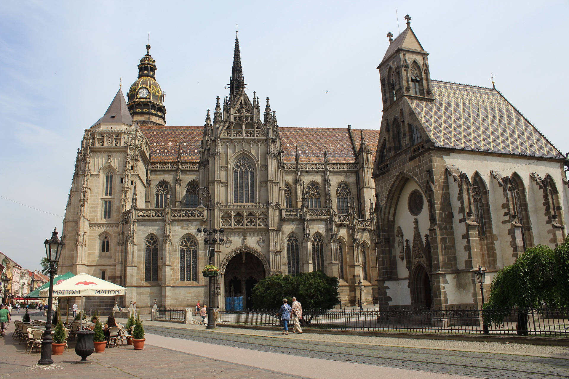 A beautiful feat of architecture with this Cathedral in Kosice, Slovakia.