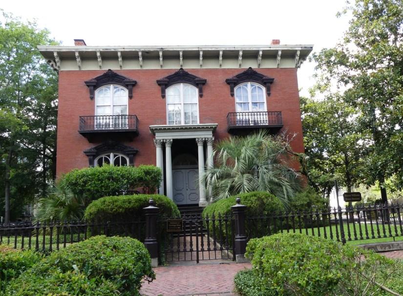 Mercer House.  Photo:  Kathleen Walls