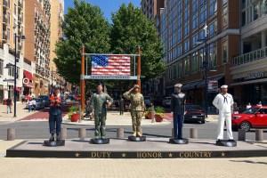 Photo of Military Honor taken by Tonya Fitzpatrick