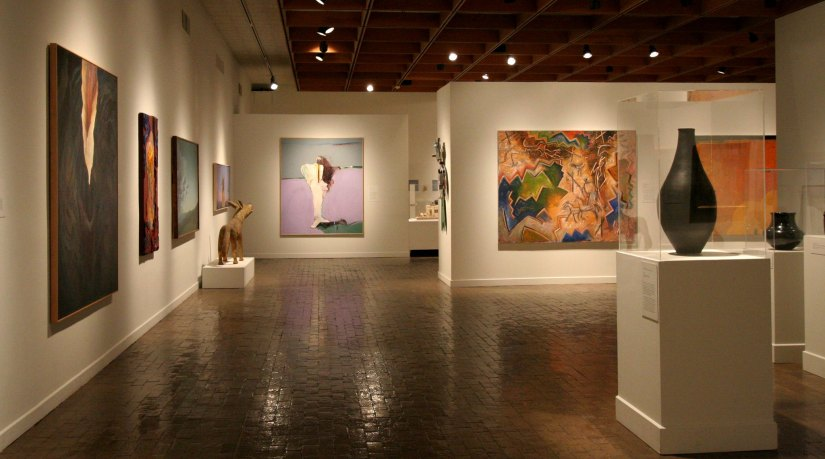 An image of the art exhibition at the Albuquerque Museum. Photo courtesy of the City of Albuquerque