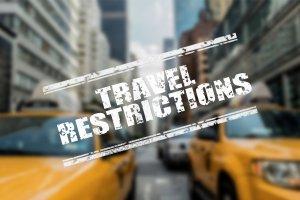 Travel Restrictions banner