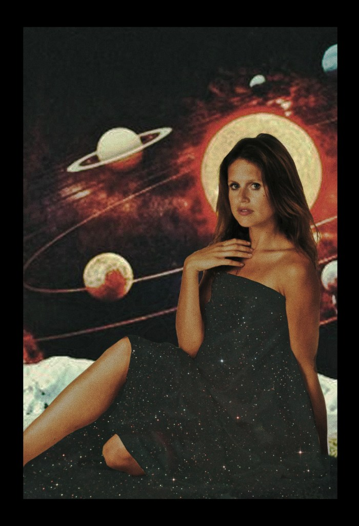 Haley Comet and planets