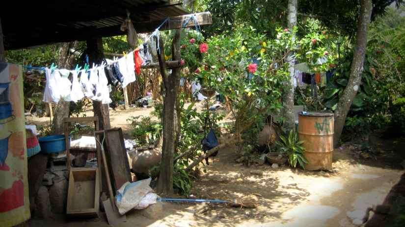 Standard of living in village where Chris lived in Nicaragua during his Peace Corp years. Photo: Chris Wellant