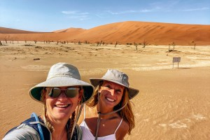 Namibia - Evie and Kellie - Deadvlei