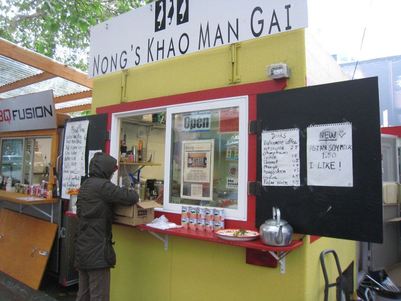 """""""Nong's Khao Man Gai - Downtown Portland, OR"""" by dane brian is licensed under CC BY-SA 2.0"""