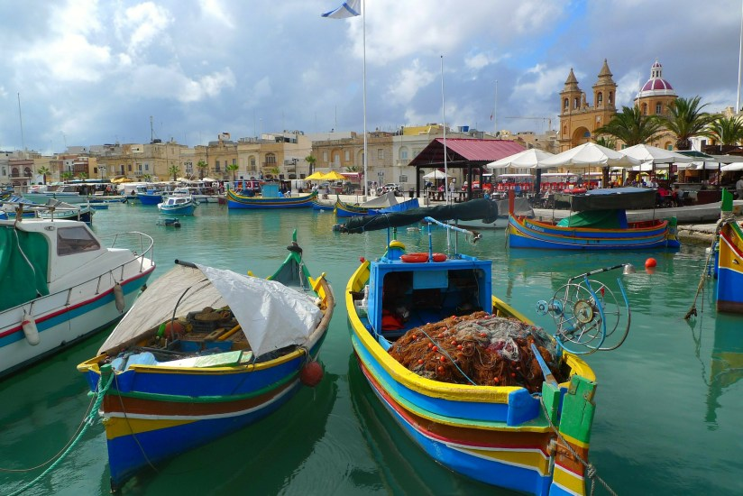 Malta fishing port