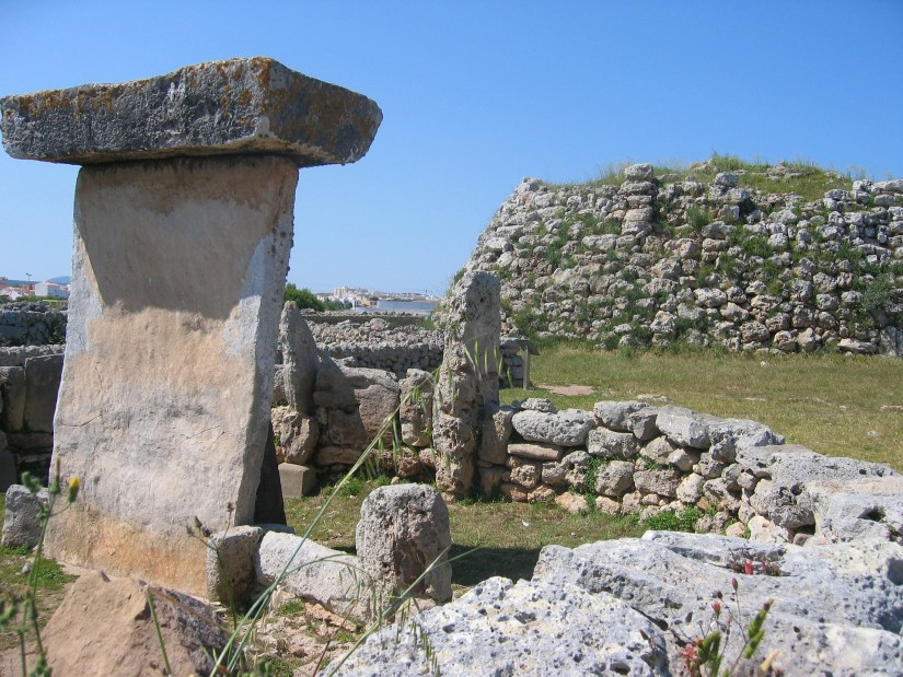 Ancient settlement In Menorca