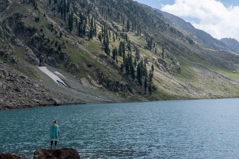 Author in Swat Valley
