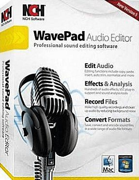 NCH WavePad Sound Editor crack download