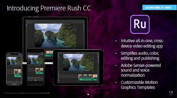 Adobe Premiere Rush CC 2019 crack download