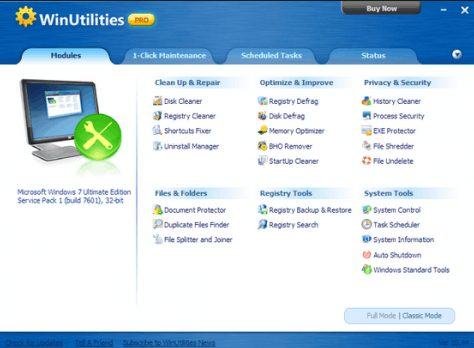 WinUtilities Professional Edition 15 crack download